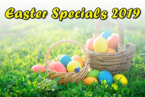 Easter Weekend Specials